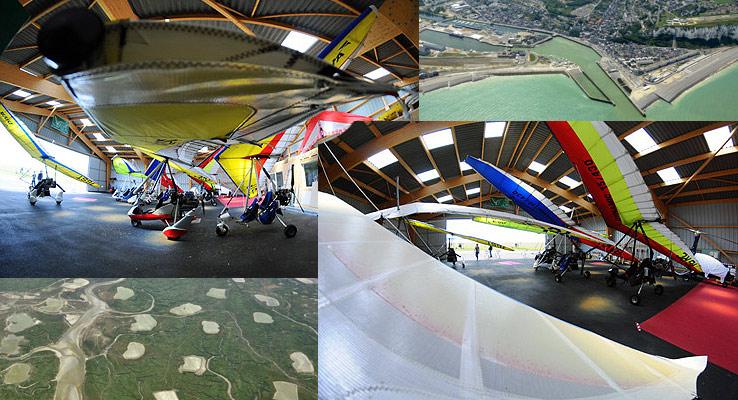 ulm dieppe - hangar des ULM